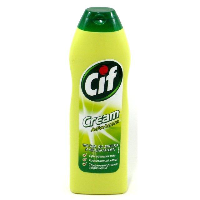 Картинки по запросу Чистящий крем Cif