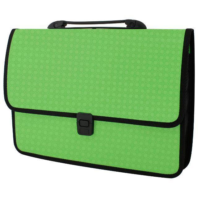 0791c07dd26f Портфель пластиковый EconoMix Вышиванка А4 на застежке салатовый ...