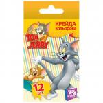 Мел цветной CFS Tom & Jerry 12 шт