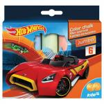 Мел цветной Kite Hot Wheels Jumbo 6шт