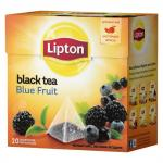 Чай Lipton Blue Fruit Tea в пирамидках 20х1,8 г