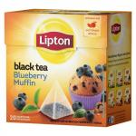 Чай Lipton Blueberry Muffin в пирамидках 20х1,6 г