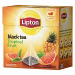 Чай Lipton Tropical Fruit Tea в пирамидках 20х1,8г