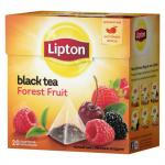 Чай Lipton Forest Fruit Tea в пирамидках 20х1,8г