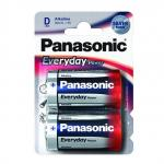Батарейки Panasonic EVERYDAY POWER LR20 D 2шт