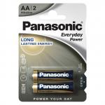 Батарейки Panasonic 1.5В EVERYDAY POWER LR6 АА 2шт