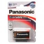 Батарейка Panasonic EVERYDAY POWER 9V 6LR61 1шт крона