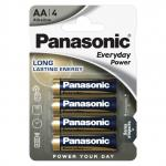 Батарейки Panasonic 1.5В EVERYDAY POWER LR6 АА 4шт