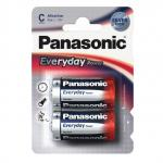 Батарейки Panasonic EVERYDAY POWER LR14 C 2шт