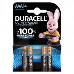Батарейки Duracell Ultra Power 1.5В MX2400-LR03 AAA 4шт